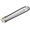 Lezyne Micro Floor Drive HV ohne Luftdruckmesser silber